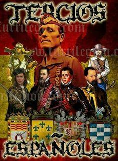 Tercios de España Spanish, Empire, Baseball Cards, Conquistador, Movie Posters, Patches, Fields, Templates, Spanish Flags