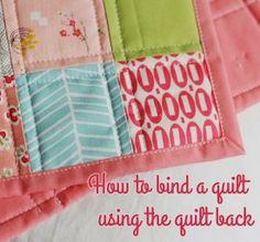 How To: Tips on Binding