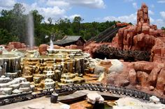 Big Thunder Mountain Railroad - Disney's Magic Kingdom.  One of my favorite rides!