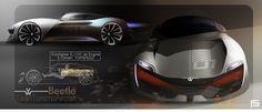 VW Beetle GTA on Behance