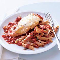 Fast & Easy Dinner: Slim Chicken Parmesan