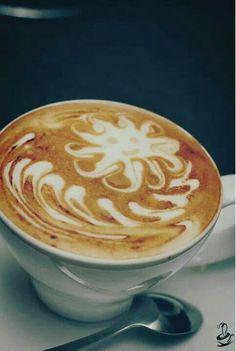 Arte del cafe con leche