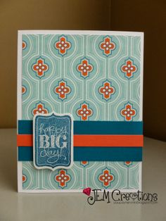 J.E.M. Creations: Happy Birthday Card