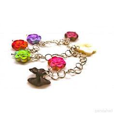 Handmade Acrylic Bracelets with Jumprings | PandaHall Beads Jewelry Blog