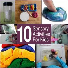 These 10 sensory activities For toddlers are great play ideas for when you're trapped indoors! Find out how we do it with natural ingredients.