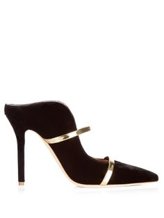 Click here to buy Malone Souliers Maureen velvet mules at MATCHESFASHION.COM