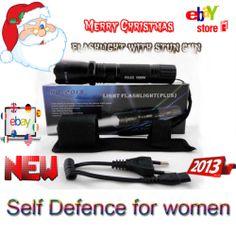 Flashlight with Stun GUN Newest Model RD + 2013 = POLICE -- Self Defense WOMEN Self Defense Women, Safety Tips, True Friends, New Model, Just In Case, Flashlight, Gun, Police, Ebay