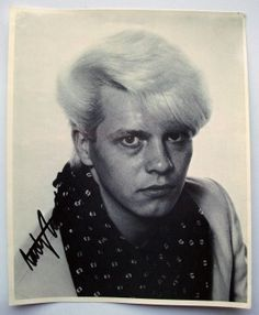 Autographed Photo of Andy Taylor (Duran Duran) | Luvdby - discover. share. collect