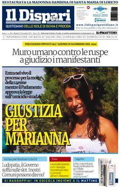 La copertina del 10 novembre 2015 #ischia #ildispari