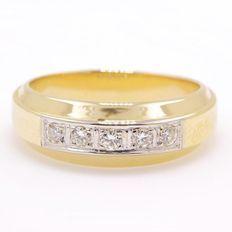 """1,25 ct Natuurlijke F-G VS Top Wesselton diamanten ring """"zonder reserveprijs"""""""
