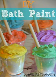 DIY Bathtub Paints