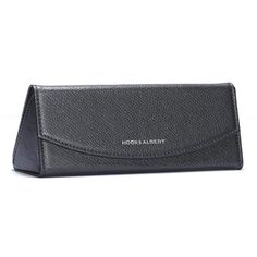 633a9f17b210 Black Leather Collapsible Glasses Case