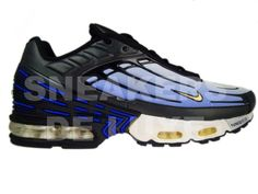 a14bce275d8 Nike Air Max Plus TN III 3 Hyper-Blue Black Yellow 604201-472