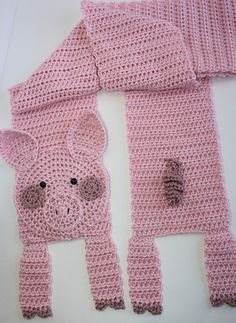 Pig Scarf - $4.99 by Shelley Brown