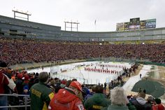 When the Badgers skate at Soldier Field in February, they will have played a game on the home field of three of the four NFC North teams. (David Stluka photo)