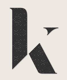 I have a tenuous relationship with the letter K. I find it problematic at the best of times. But this makes me want to keep trying. Type Treatments, Monogram Logo, Logo Branding, Brand Identity, Letter K, Tumblr, Poster, Product Launch, Fonts