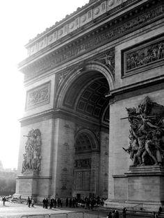 The Arc de Triumph, Paris, France via Gogobot