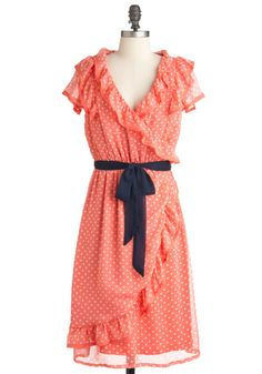 I don't think my bridesmaids would like this, but I think it's so cute. Frill Seekers Dress, #ModCloth