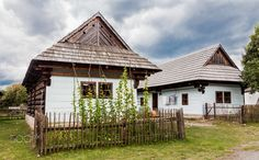 Photo was taken in Liptov, Slovakia. Museum of Liptov Village, is the most attractive landmark of the Liptov region. It displays the typical  folk architecture.