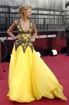 Nancy O'Dell Academy Awards 2012