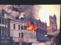 Fire in Blackpool. Your old photos - look back into the past with Live Blackpool from Visit Fylde Coast Blackpool England, I Passed, Photo Look, Old Photos, The Past, Coast, Fire, History, Architecture