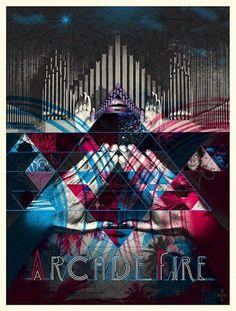 Arcade Fire #Poster
