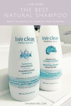 0cb98ee9a5b On The Blog >> The Best Natural Shampoo #liveclean #livecleanshampoo  #chemicalfree #toxicfree #shampoo #naturalshampoo #ecoshampoo  #healthyshampoo ...