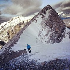 """""""Currently in the office & daydreaming about being here"""" - via Arc'teryx athlete Adam Campbell"""