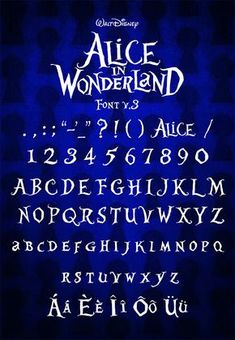 Alice in Wonderland | dafont.com