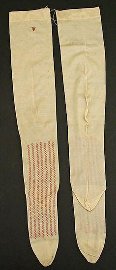 19th Century  Stockings | 19th Century Stockings Culture: French Medium: silk More - full figure lingerie, apparel lingerie, lingerie sale *sponsored https://www.pinterest.com/lingerie_yes/ https://www.pinterest.com/explore/lingerie/ https://www.pinterest.com/lingerie_yes/fantasy-lingerie/ https://www.blushlingerie.com/