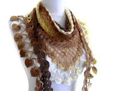 Crochet scarfhandknittedfashiongift Women unique by likeknitting, $29.99