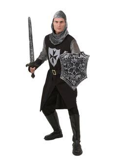 Adult Black Knight Costume #PartytimeCostumeLingerieYiwuFactory