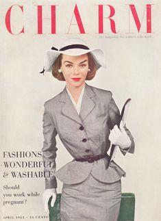 "Charm Magazine, 1952 ""the magazine for women who work"""