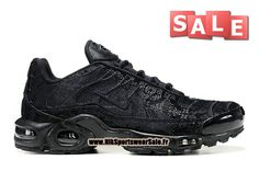 new concept 52a56 bcb4d Nike Air Max Tn Tuned Requin Mesh - Chaussures Nike Sportswear Pas Cher  Pour Homme Noir 604133-106