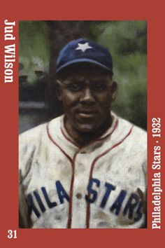 Negro Leagues Products magnet #31 Jud Wilson 1932 Philadelphia Stars