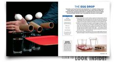 The Egg Drop Science Experiment from Naked Eggs and Flying Potatoes by Steve Spangler - Now with DVD Set