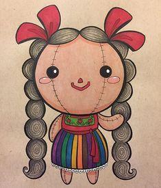 Mexican doll muñeca María