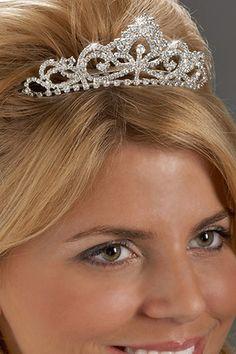 Rhinestone Tiara Comb Bridal Hair Devine Crystal And Pearls Bridesmaid Accessories Pinterest Combs