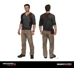 The challenge in costuming Drake for Uncharted 4 was staying true to his legacy while allowing the character to mature and evolve.