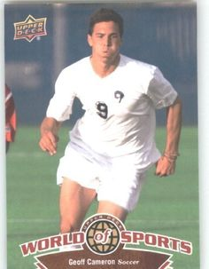 2010 Upper Deck World of Sports Trading Card # 94 Geoff Cameron - Soccer Cards - Rams by Upper Deck. $2.51. 2010 Upper Deck World of Sports Trading Card # 94 Geoff Cameron - Soccer Cards - Rams