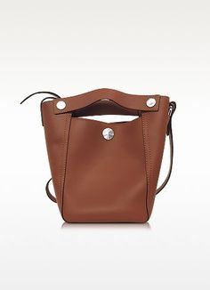 Dolly Sequoia Leather Small Tote - 3.1 Phillip Lim