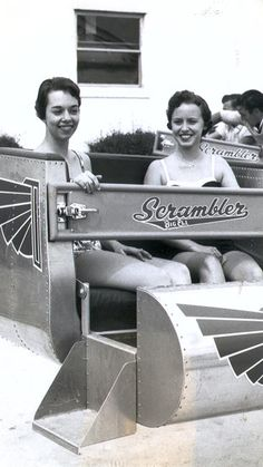 The Scrambler was another of Buckroe's most popular amuseument park rides.