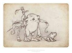Runnerbean and Snifflehog