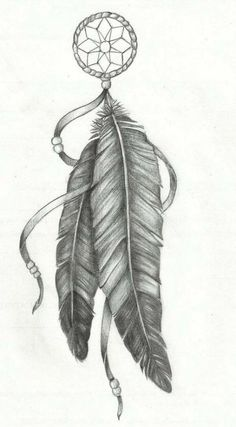 Feather tattoo: which means and 20 tattoo concepts to find Federtattoo: Bedeutung und 20 Tattoo-Ideen zum Entdecken Indian Feather Tattoos, Feather Tattoo Meaning, Feather With Birds Tattoo, Feather Drawing, Feather Tattoo Design, Feather Art, Tattoos With Meaning, Feather Tattoo Wrist, Tattoo Meanings