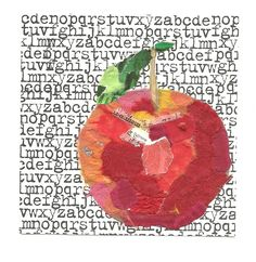JLH Mind Mutterings: Collage Apple