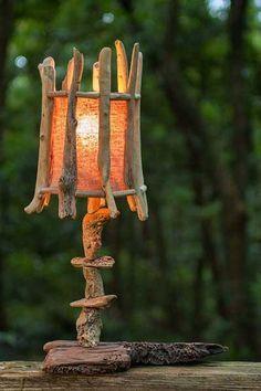 Eclairage de bois flotté -2