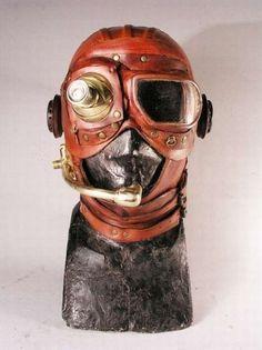 Weird steampunk masks