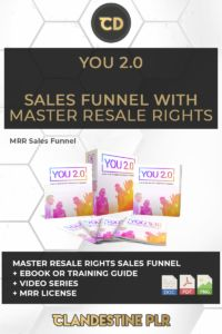 You 2.0 Sales Funnel With Master Resale Rights - Clandestine PLR  | #MasterResaleRightsSaleFunnels #MRRSaleFunnels #MRRProducts #MRR #MasterResaleRights I Can Tell, Told You So, Landing Page Html, Absolute Power, Sales Letter, A Dime, I Deserve, Transform Your Life, Weight Loss Goals
