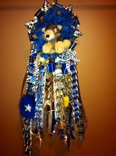 The Modern Mum Homecoming Mums by AngelsNest4 on Etsy, $110.00