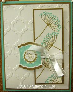 Stampin' Up! Cards - Label Love, Summer Silhouettes, A Round Array